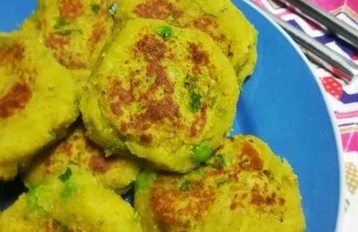 AlooTikki croquetas de patata indias