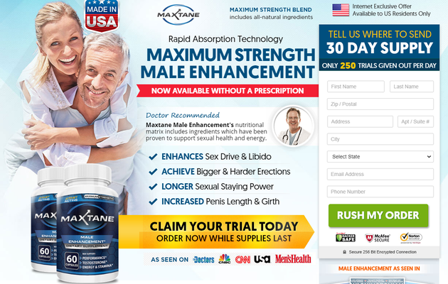 Maxtane Male Enhancement - Does It Really Work, Price & Buy?