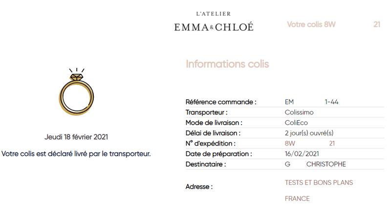 visuels et captures d'écran du site L'Atelier Emma & Chloé (tous droits réservés) @ Tests et Bons Plans