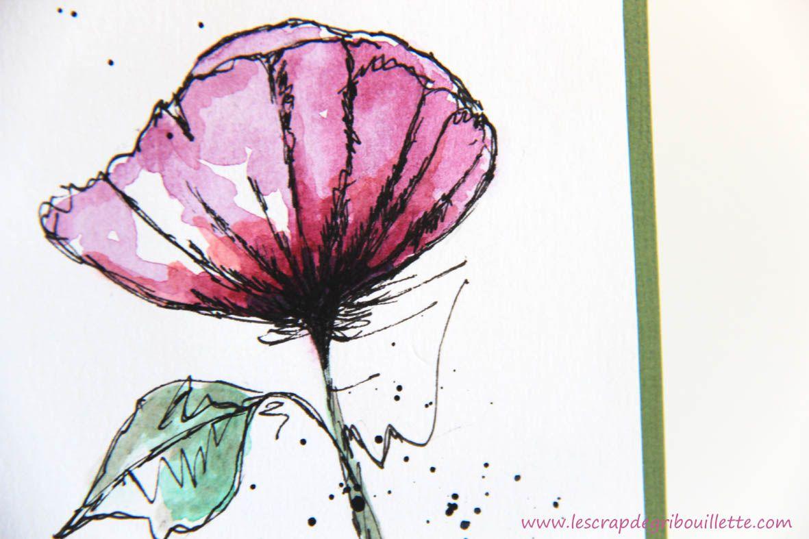 Carte_Fleur unique