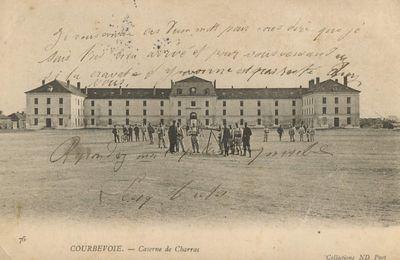 Courbevoie et la caserne Charras.