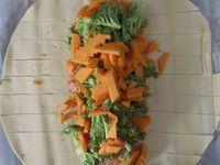 Tresse feuilletée truite brocolis