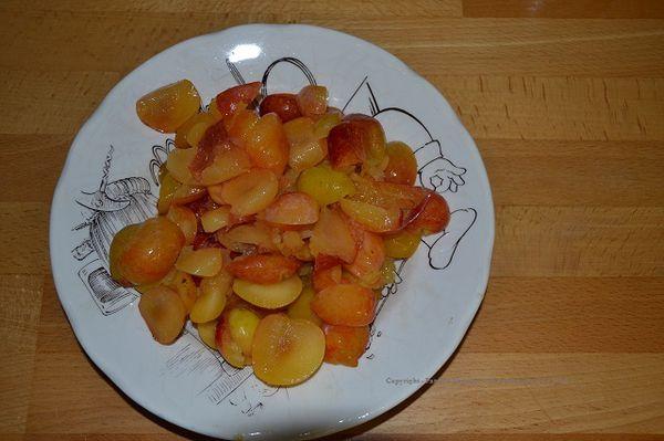 Des fruits dans mon potager en permaculture