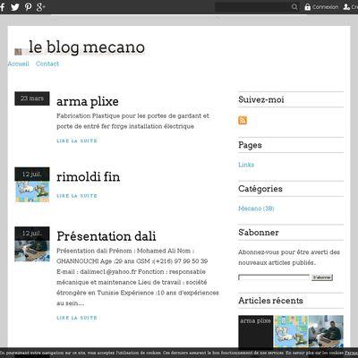 le blog mecano