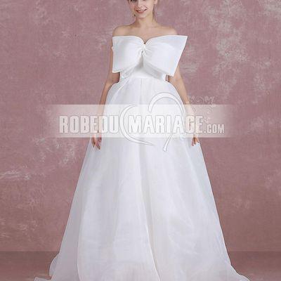Choisir une traîne adaptée à votre robe de mariée
