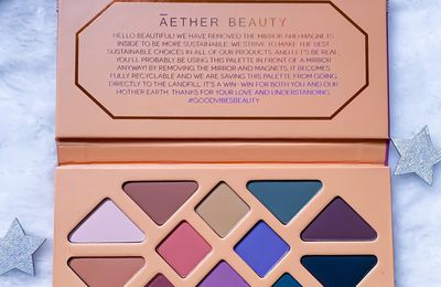 Ma palette de maquillage Ãether Beauty