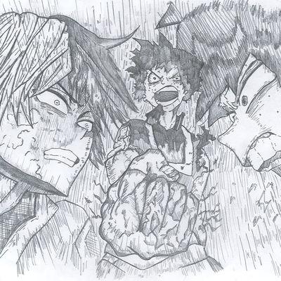 """Gagnant du concours de dessins """"A la manière des mangas"""""""