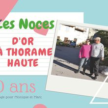 Thorame Haute, Les noces d'or