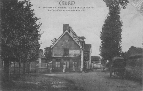 La Haye-Malherbe, quelques cartes postales