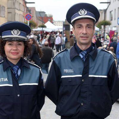 La police roumaine envoyée à Paris pour effectuer des missions de patrouille...