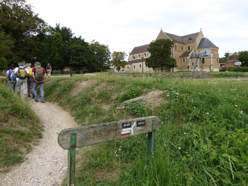 Randonnée de La Norville Saint-Germain-lès-Arpajon à Sainte Geneviève des Bois - 13 km.