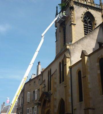 Réparations église saint Martin