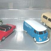 COFFRET VOLKSWAGEN COX KARMAN COMBI T1 SCHUCO 1/87 - car-collector.net