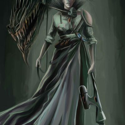 Warhammer 40 000 – Aeldari Exodite, Chevalier Dragon
