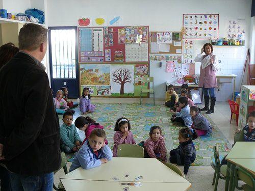 Dans le cadre de notre projet Comenius, rencontre des partenaires en Espagne