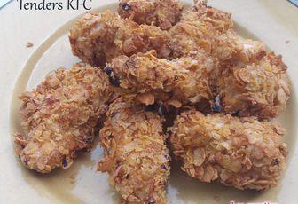 Blancs de poulet panés façons Tenders de KFC à l'Airfryer