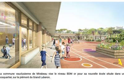 VAUCLUSE: Une école aux grandes ambitions environnementales pour Mirabeau