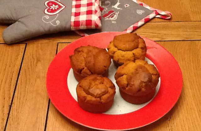 Recette : Muffins d'automne au potiron