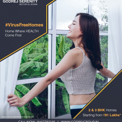 Godrej Serenity Sohna Road Gurugram - Uninterrupted Views Of The Greens