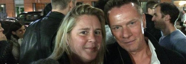 U2 et les fans après The Graham Norton Show 17/10/2014