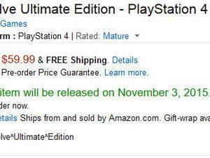Evolve Unlimited Edition annoncé