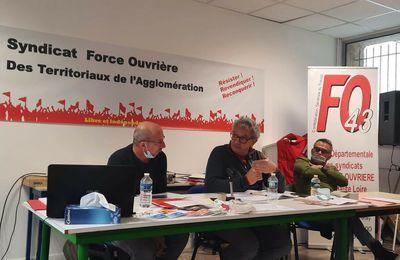 Les territoriaux de l'agglo du Puy en AG