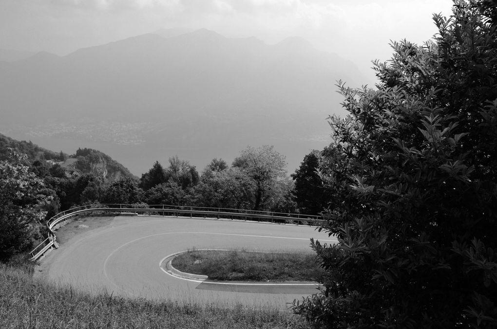 Mon voyage a bicyclette fut l'occasion de tutouyer Dame nature Italienne