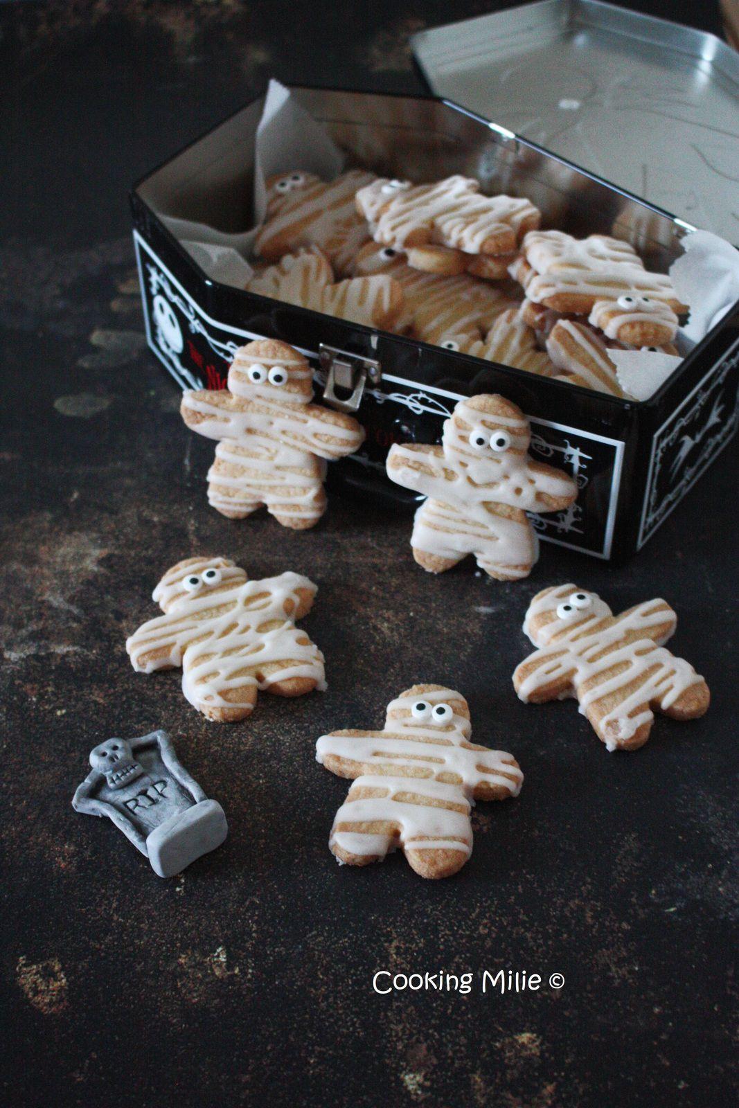 هالووین شماره 34 - نان شیرینی مومیایی آهک نارگیل