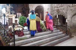 Los Magos de Oriente llegan a San Lesmes