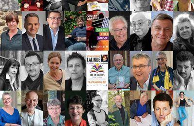 Tous au Festival littéraire de Lalinde les 18 et 19 septembre 2021