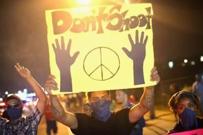 gli scontri di Ferguson