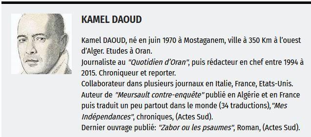 Kamel Daoud – France-Algérie: que faire si on arrête la guerre ? Dans Le Point
