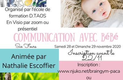 Formation communication connectée avec bébé
