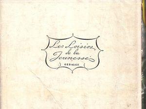 """J.-H. Rosny aîné """"Ambor le loup"""" (Gedalge - 1955) [reliure bleue]"""