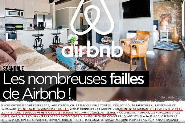Les nombreuses failles de Airbnb ! #fail