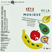 Le programme complet de la fête de la musique à Quimper - Penhars Infos Quimper