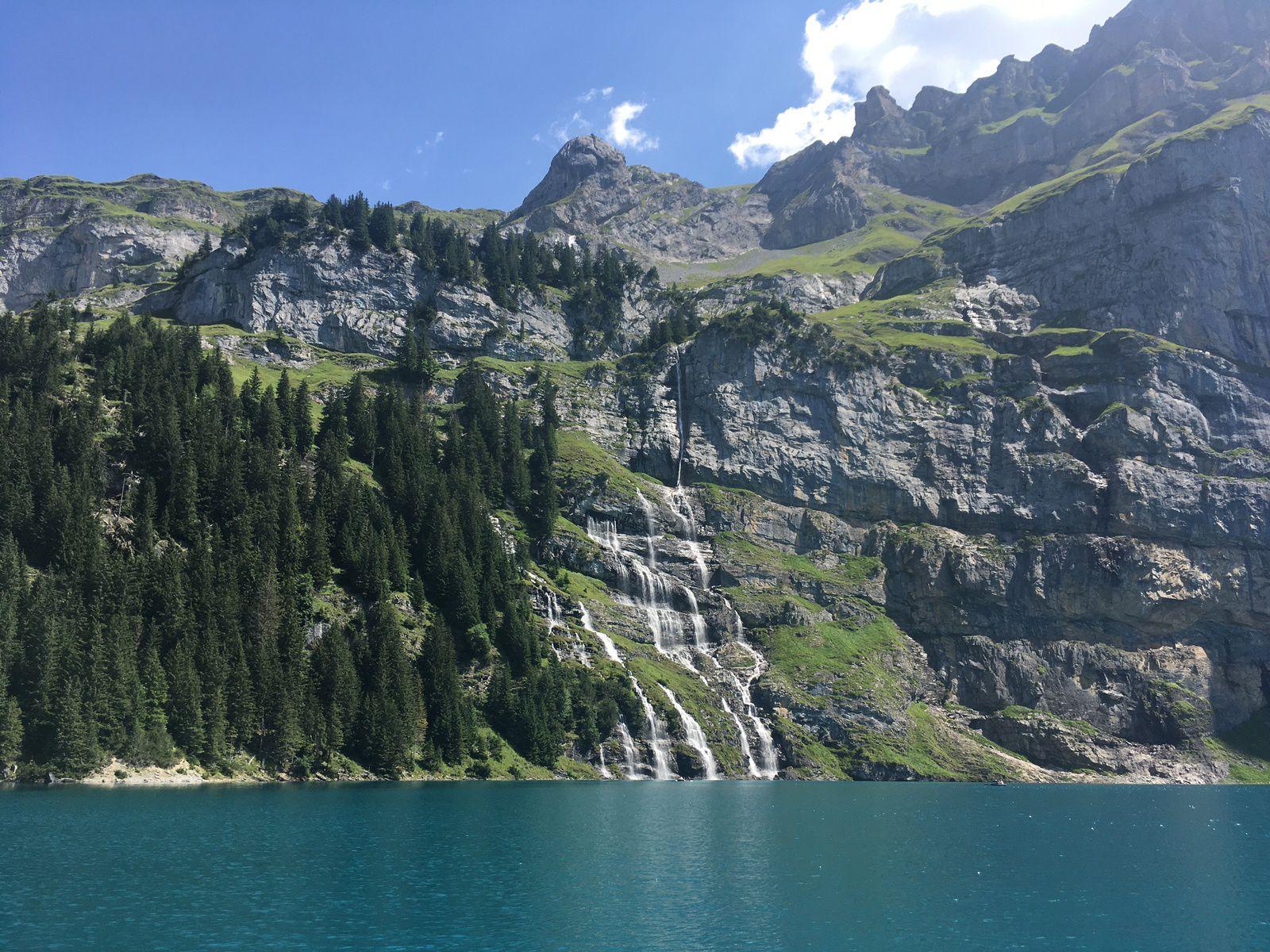 15 août 2021 : Oeschinensee (Suisse)