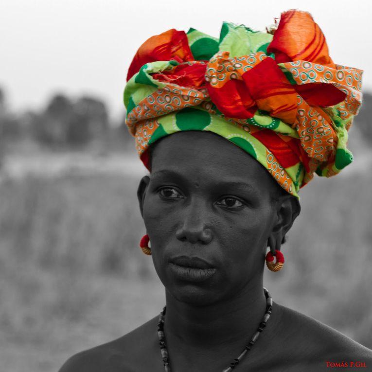 Imágenes mujer senegalesa.- El Muni.