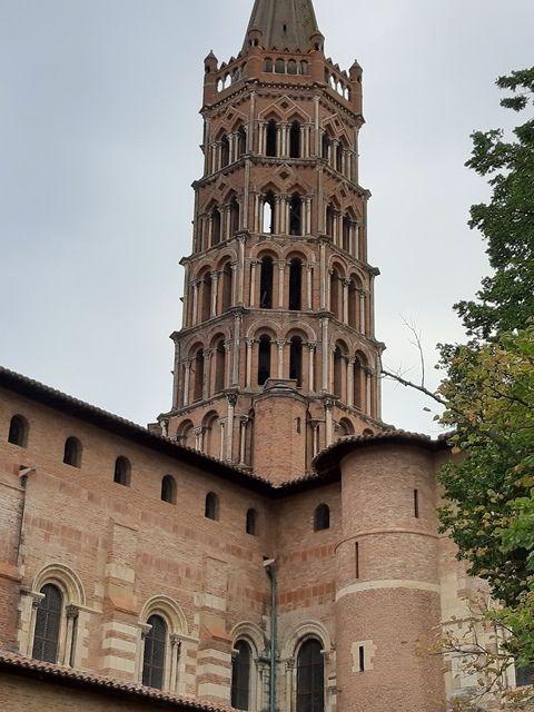 Toulouse : basilique Saint-Sernin.
