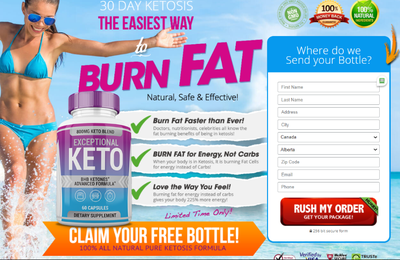Exceptional Keto [Canada-CA] Reviews, Benefits, Offer Price, Exceptional Keto Pills Give Fitness!