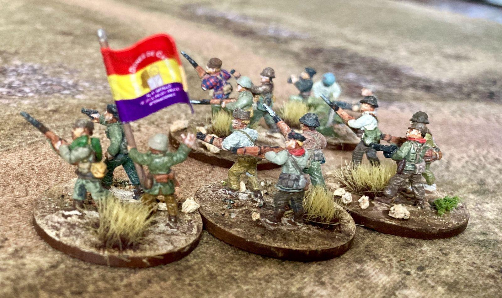 ¡No Pasarán! (5) : Les brigades internationales (1)