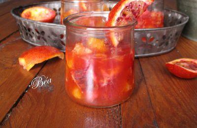 Soupe d'oranges à la liqueur de clémentines