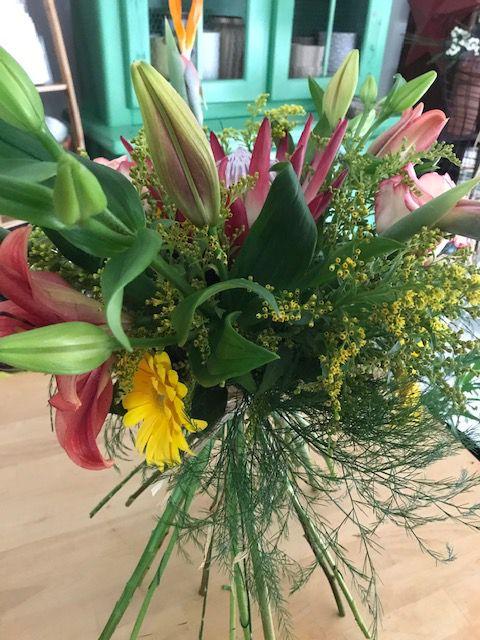 Bouquet Départ professionnel !