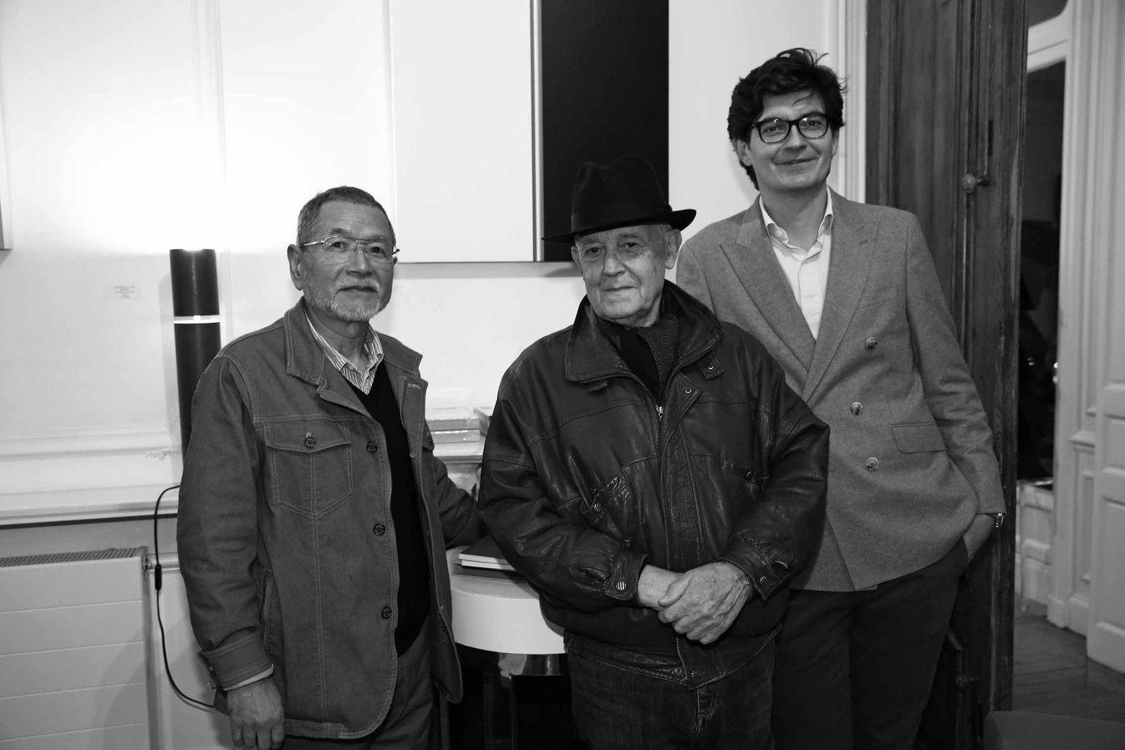 Satoru Sato, Gérard Xuriguera, Pierre-François Garcier