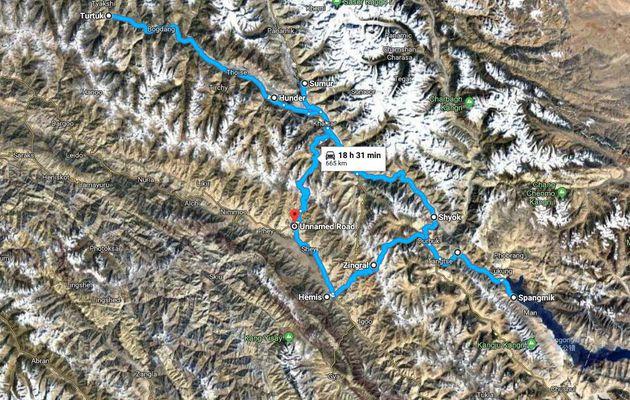 Juillet 2018 :ROAD TRIP 2 LADAKH : KHARDUNGLA...NUBRA VALLEY...PANGONG TSO