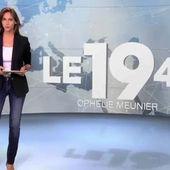 """Les premiers pas d'Ophélie Meunier à la présentation du """"19.45"""""""