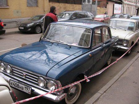 Volga, Pobieda, Moskvitch etc