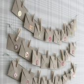 Gör en te-adventskalender - Make a tea advent calendar