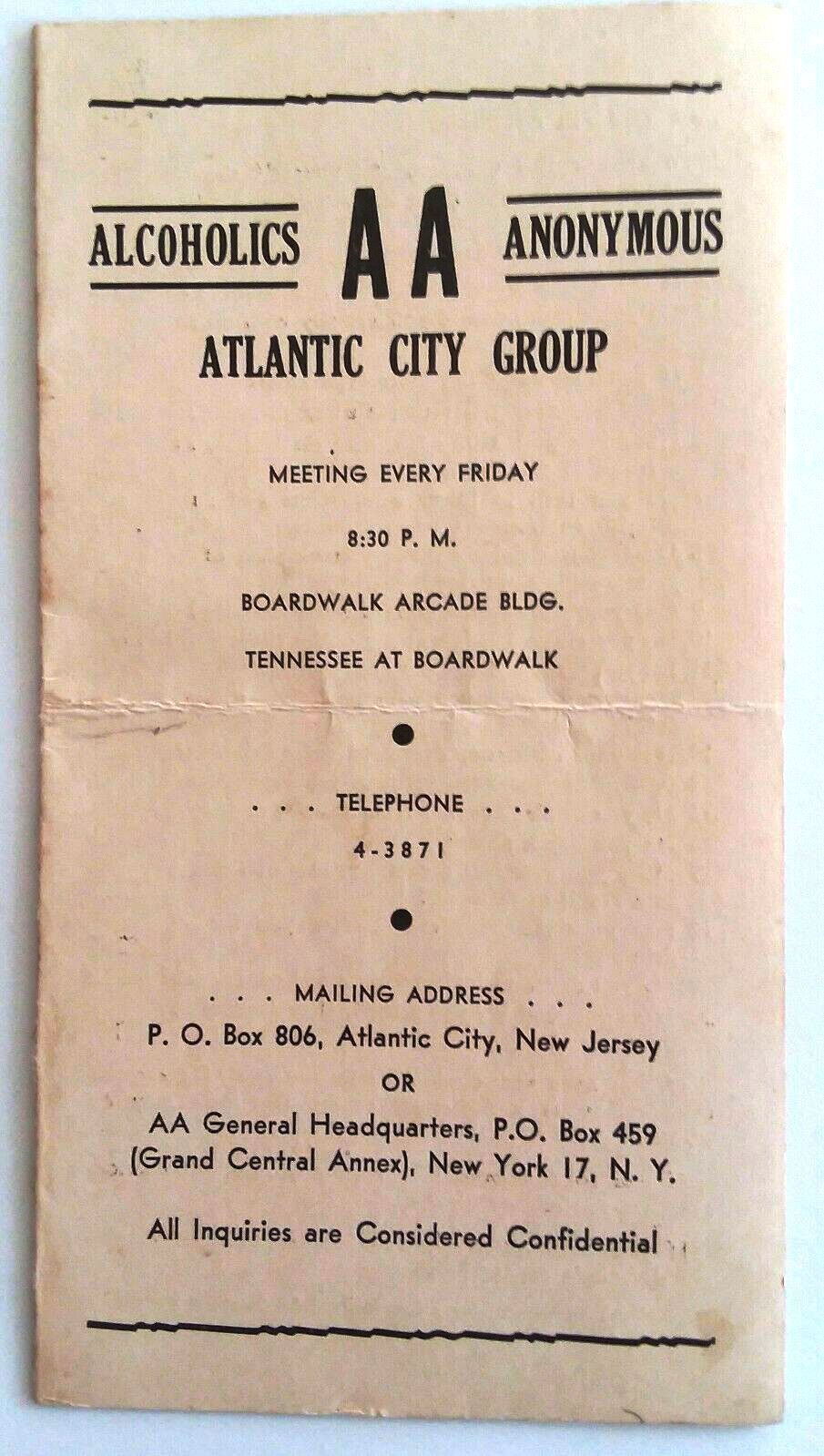 """Atlantic City"" group, New Jersey"