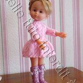 tuto gratuit poupée étape par étape : bottes par Victoria Lynn - Chez Laramicelle